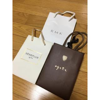 アガット(agete)のagete、RMK(アガット、ルミコ)★紙袋、ショップ袋(ショップ袋)