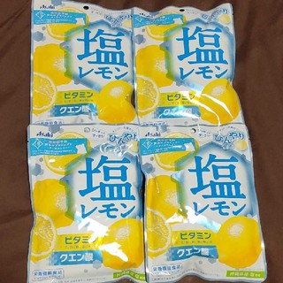 アサヒ - アサヒ 塩レモンキャンディ 4袋