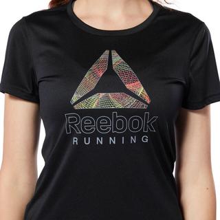 リーボック(Reebok)の【新品未使用】リーボック レディース  ランニング グラフィック Tシャツ S(Tシャツ(半袖/袖なし))