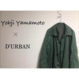 Yohji Yamamoto - Yohji Yamamoto × Durban ステンカラーコート 古着 モード