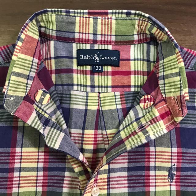 Ralph Lauren(ラルフローレン)のラルフローレン 半袖シャツ 130 男の子 キッズ/ベビー/マタニティのキッズ服男の子用(90cm~)(Tシャツ/カットソー)の商品写真