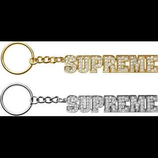 【新品】 Supreme Block Logo Keychain