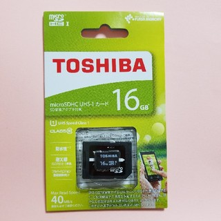 東芝 - ★国内正規品★マイクロsdカード★microSD 16GB 東芝★