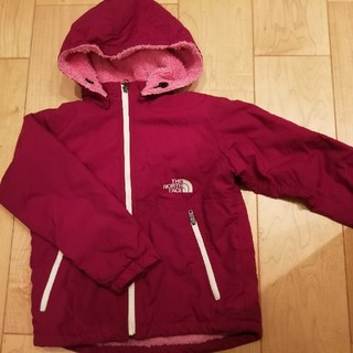 THE NORTH FACE - THE NORTH FACEキッズ裏ボアジャケットSize120