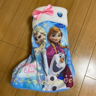 アナトユキノジョオウ(アナと雪の女王)のアナと雪の女王 靴下型 入れ物(キャラクターグッズ)