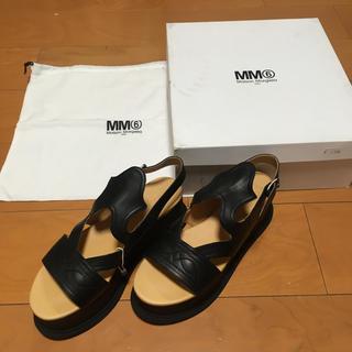 マルタンマルジェラ(Maison Martin Margiela)のMaison Margiela MM6 サンダル 購入金額約6万円(サンダル)