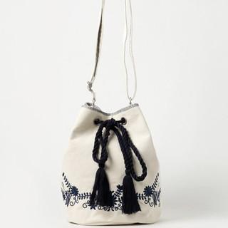 Discoat - ディスコート パリシアン 刺繍巾着バッグ