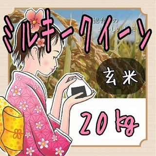 R1年岐阜県東白川産ミルキークイーン玄米20kg
