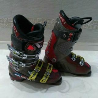 3/3限定価格 SALOMON スキーブーツ 24.5cm サロモン(ブーツ)
