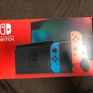 任天堂 - Nintendo Switch 本体 ニンテンドースイッチ ネオン・新型【新品】