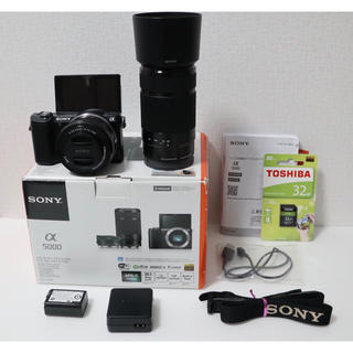 SONY - SONY  ソニー a α5000ダブルズームキット
