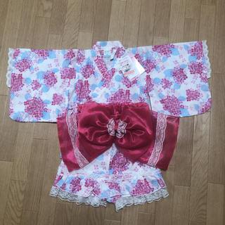 シマムラ(しまむら)の80cm 浴衣ドレス(甚平/浴衣)
