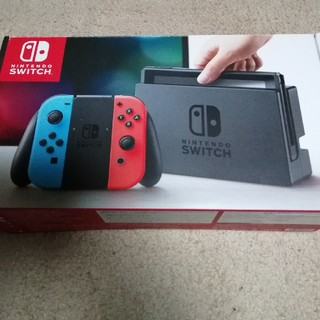 Nintendo Switch - ニンテンドー スイッチ 本体 Switch ネオンブルー ネオンレッド