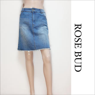 ROSE BUD - ROSE BUD デニム スカート♡シップス ザラ ユナイテッドアローズ SLY