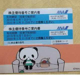 ANA(全日本空輸) - 全日空 ANAの株主優待券 2枚