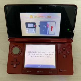 任天堂 - 任天堂 ニンテンドー3DS フレアレッド CTR-001