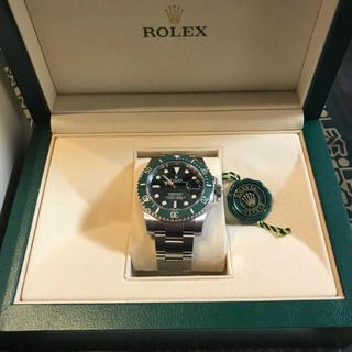 ROLEX - 2020年2月国内正規店購入 グリーンサブ116610LV