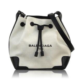 BALENCIAGA BAG - BALENCIAGA ネイビーバケット