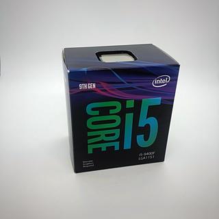 intel 第9世代 CPU core i5 9400f
