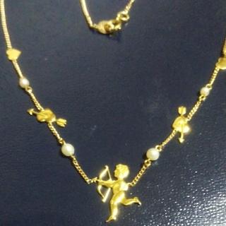 k18 天使のネックレス