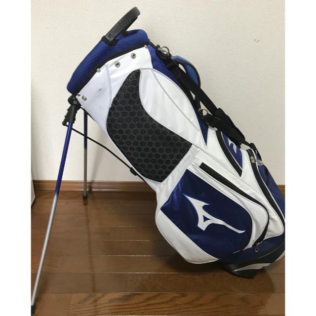 MIZUNO(ミズノ)のミズノ キャディバッグ スポーツ/アウトドアのゴルフ(バッグ)の商品写真