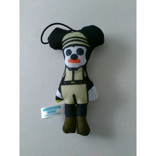 ミッキーマウス - セガ ミッキーマウス へなへなマスコット ストラップ