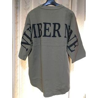 NUMBER (N)INE - NUMBER (N)INE ビッグシルエット バックロゴTシャツ