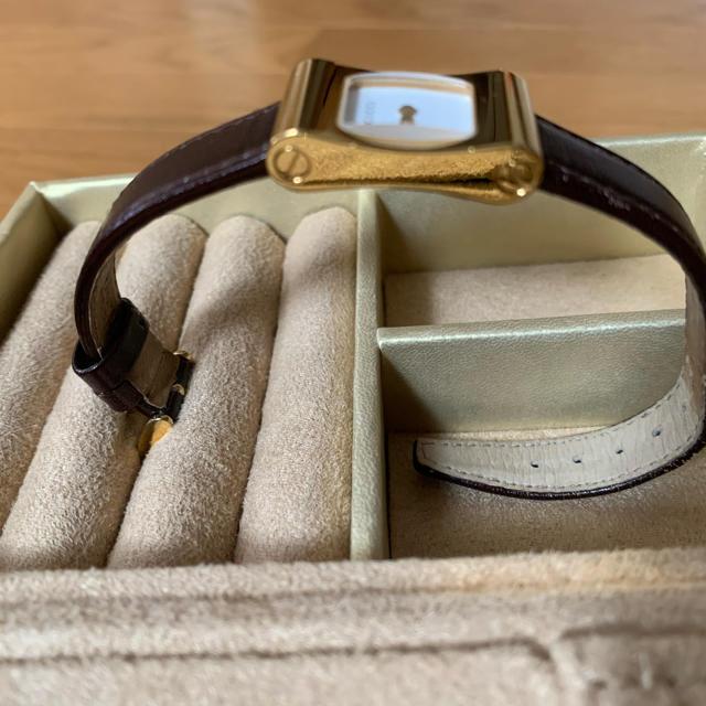 Gucci(グッチ)のグッチレザーベルト時計 レディースのファッション小物(腕時計)の商品写真