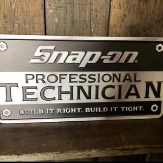 Snap-on 看板ブリキ 大サイズ 新品未使用