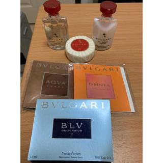 ブルガリ(BVLGARI)のブルガリ アメニティ 香水サンプルセット(サンプル/トライアルキット)