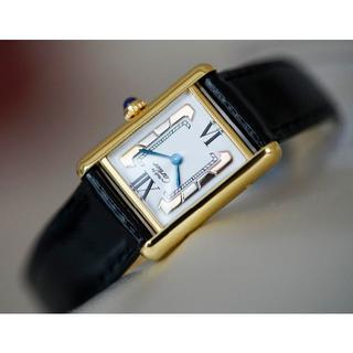 Cartier - 美品 カルティエ マスト タンク スリーカラーゴールド SM Cartier