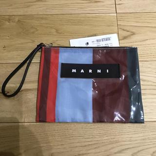 Marni - MARNI マルニ ストライプ クラッチ ポーチ