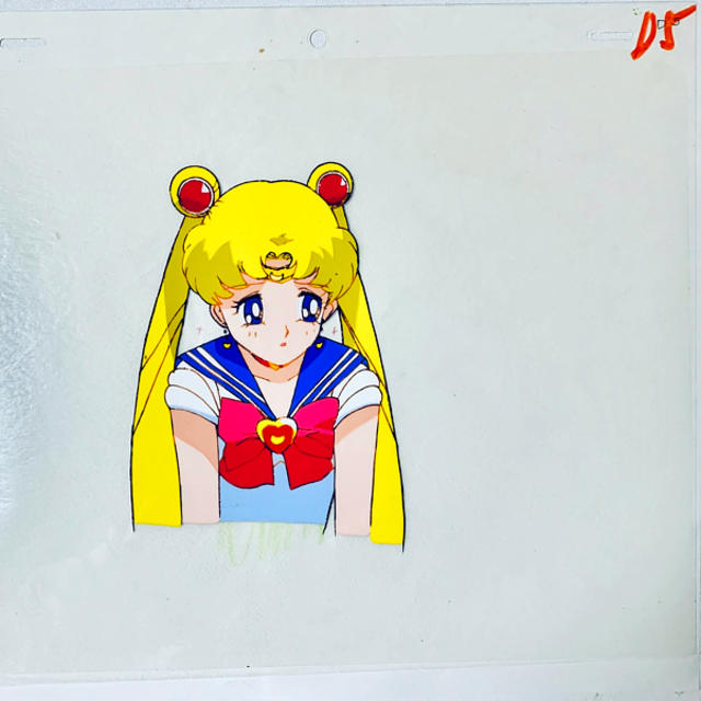 セーラームーン(セーラームーン)のセーラームーン セル画 コズミックハートコンパクトver エンタメ/ホビーのアニメグッズ(その他)の商品写真