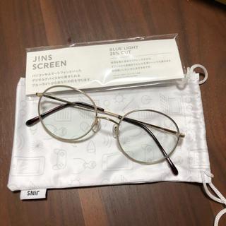 JINS - ❤️ほぼ新品❤️JINS PC ブルーライトカット25%