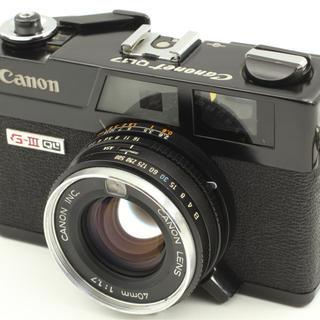 キヤノン(Canon)のCannonet(フィルムカメラ)