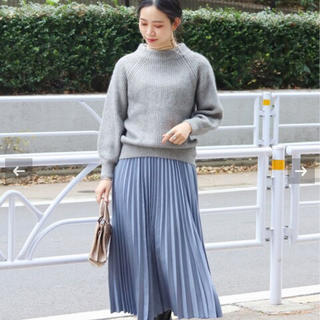 IENA SLOBE - B.C STOCK 起毛シャンブレースカート