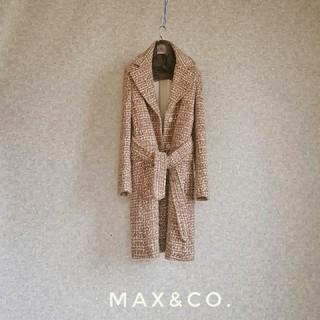 Max Mara - 上級 マックスマーラ 一級品モダンベルテッドコート マックスアンドコー 送料無料