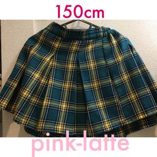 PINK-latte - ピンクラテ グリーン系チェック スカート