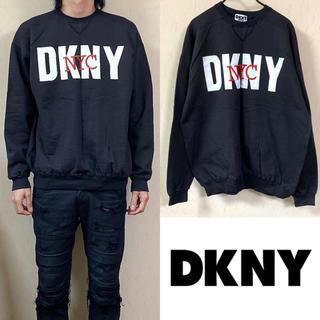 ダナキャランニューヨーク(DKNY)の90's DKNY ダナキャランニューヨーク スウェット ビッグロゴ(スウェット)