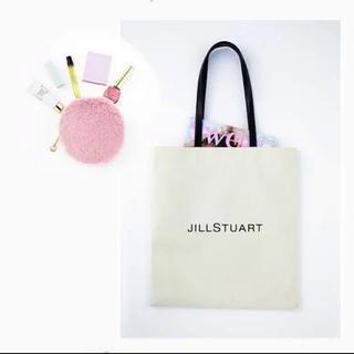 JILLSTUART - sweet 付録 JILLSTUART ロゴトート&ファーポーチ