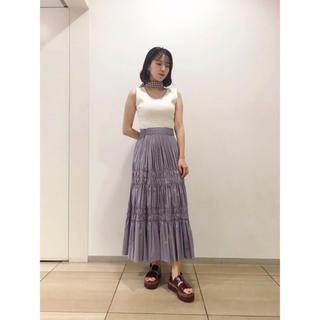 FRAY I.D - タフタギャザースカート