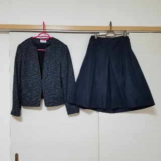 PLST - プラステ ツイードジャケット&バルーンスカート