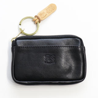 IL BISONTE - 新品 イルビゾンテ キーリング付き コインケース 小銭入れ キーケース ブラック