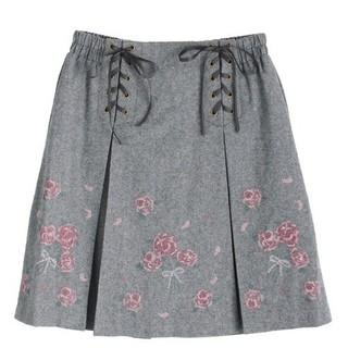 axes femme - アクシーズファムポエティック 刺繍スカート