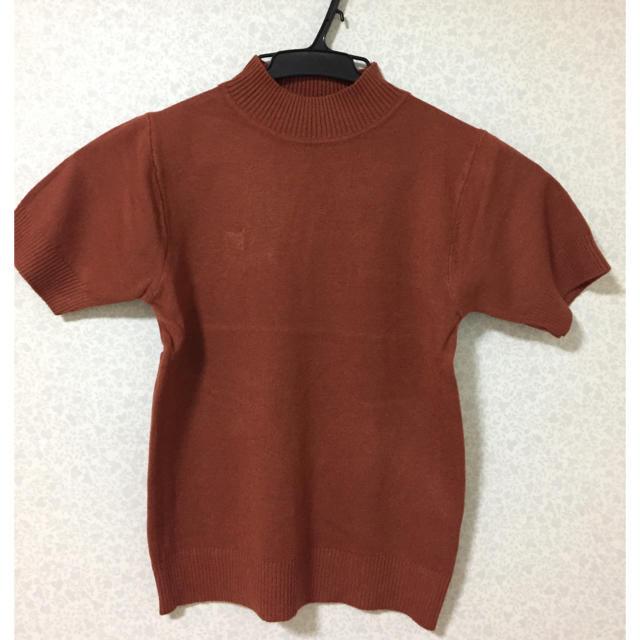 GRL(グレイル)のテラコッタ ニットトップス レディースのトップス(ニット/セーター)の商品写真