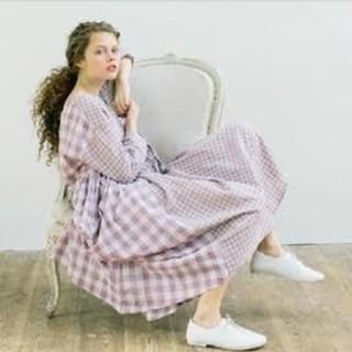 SM2 - 【新品タグ付】SM2 パッチワークギンガムチェックワンピース