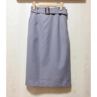 PROPORTION BODY DRESSING - 新品未使用 タイトスカート 水色 サックス