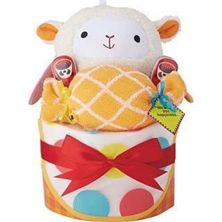 Diaper Cake ダイパーケーキ ヤムヤムボール/ヒツジ(ぬいぐるみ/人形)