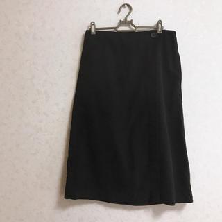 スタディオクリップ(STUDIO CLIP)のスタジオクリップ 黒 スカート(ひざ丈スカート)