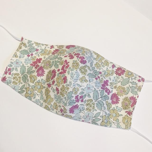 細菌 マスク 、 リバティ♡ダブルガーゼ 布マスク リバーシブルの通販